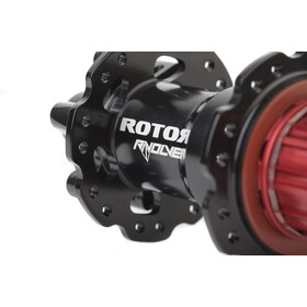 Rotor R-Volver MTB Moyeu pour roue arrière Disc Boost 12x148mm pour Shimano-Rotor, black/red